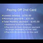 Morton, Washington credit card debt negotiation plan